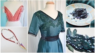 "You know when you want to finish something but don't really want to work on it? That was my week. But I did manage to complete a very pretty Edwardian Gown, some accessories, and make major progress on my Christmas Costume! Missed last weeks progress log? Check out the playlist here: https://www.youtube.com/playlist?list=PLk1yJujskxaCHy-iWxPaRTLLRboj7HF7oThings Mentioned: Book Reviews!: https://doxiequeen1.wordpress.com/2016/11/22/historical-costume-reference-book-reviews/Green Edwardian Gown construction notes: https://doxiequeen1.wordpress.com/2016/12/14/making-a-green-edwardian-gown/Christmas Costume Video #1: https://www.youtube.com/watch?v=X-Hil2HRSlUChristmas Headpiece Video: https://www.youtube.com/watch?v=AzL4lmilkWYEtsy Shop: https://www.etsy.com/shop/MaryNotMartha?ref=l2-shop-info-nameThe word I was trying to pronounce was bergere :( Write ups on my 18th century taffeta costume and 1880's project will be up on my blog soon - more frequent updates can be found on my instagram. Both are linked down below!Also the gaps (ex. ""It's been a few days but today..."") were partially because this was filmed over Thanksgiving - so there were breaks related to family obligation, not JUST procrastination :) ...If you are interested in seeing more of my work or contacting me, I'll leave links to my various sites below!Tumblr: http://doxiequeen1.tumblr.com/Blog: https://doxiequeen1.wordpress.comInstagram: https://www.instagram.com/angelacostumeryPortfolio: http://angelaclayton.crevado.com/Email: AngelaCostumery@gmail.com [serious inquires only please!]...FREQUENTLY ASKED QUESTIONS: Video: https://www.youtube.com/watch?v=v11BCwg8nyAPage: http://doxiequeen1.tumblr.com/FAQ..."