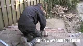 Laying Bricks - Time-Lapse Video - Dutch Garden