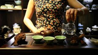 Puer China  city photos : The Chinese Tea Company - Brewing Puer Cha