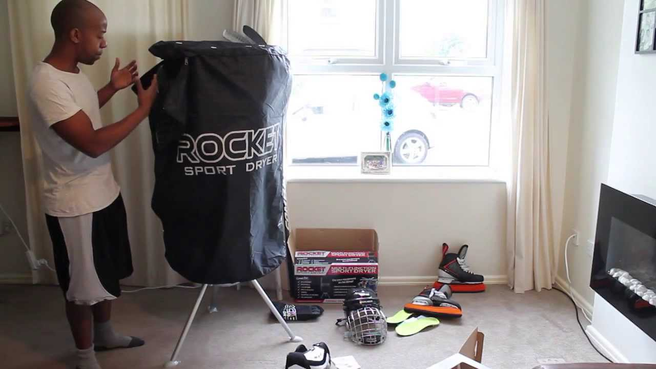 Rocket Ice Hockey Sports Heated Equipment Dryer Review – Stop Hockey Gear From Smelling