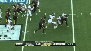 James Michael Johnson vs Southern Miss 2011
