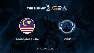 CSW vs Malaysia, game 1