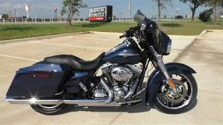 10. 661804   2012 Harley Davidson Street Glide   FLHX Used motorcycles for sale