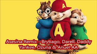 Descargar MP3 de Brytiago Darell Daddy Yankee Ozuna Anuel Aa Asesina Remix