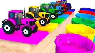 Video Colors For Kids With Tractors & Cars 3D Superheroes for Babies - Learning Colors MP3, 3GP, MP4, WEBM, AVI, FLV Juli 2017