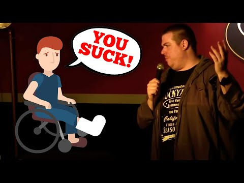 Patrick Melton - Handicapped Heckler
