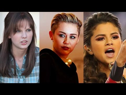 selena - Miley Cyrus, Selena Gomez, Taylor Swift, Rihanna & More - Top 10 Celebrity Fights and Cat fights. Miley Cyrus and Selena Gomez - Miley Cyrus is known for her all-out craziness and wacky concerts,...