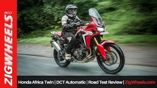 6. Honda Africa Twin | DCT Automatic | Road Test Review | ZigWheels.com
