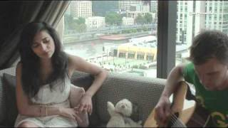 Feels so good - acoustic hotel room session by Nadia Ali and Eller van Buuren