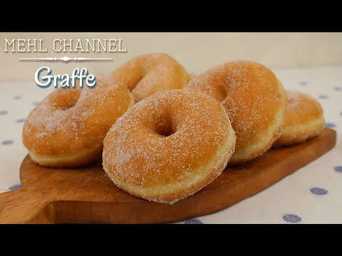 Ricetta Graffe - Ciambelle Fritte come al Bar - Senza Patate   Mehl Channel