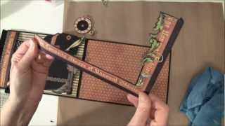 Part 5b How to build a photo mini album tutorial Welcome to part 5b .In this video we are assemble the papers to the 3. page flap and make some inserts.pocke...