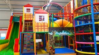 Playground for children. Funny video 2019 from KIDS TOYS CHANNEL