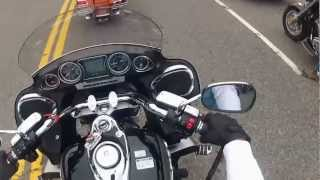 2. Americade 2012 - Ride in Lake George Village on my Kawasaki Vulcan 1700 Voyager
