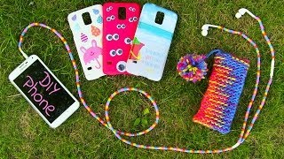 DIY 10 Easy Phone Projects. DIY Phone (Case, Pouch & More) - YouTube