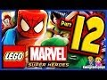LEGO Marvel Super Heroes Walkthrough Part 12 Captain America Vs Magneto Raptors!