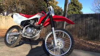 6. 2016 Honda CRF150F Startup and Rev
