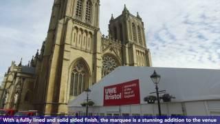 UWE Bristol Graduation Pavilion 2017