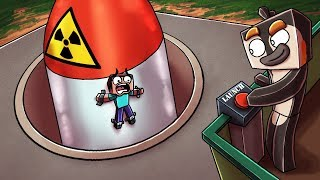 Minecraft | SECURE BUNKER CHALLENGE - Nukes vs Bunker! (Protect Your Base)