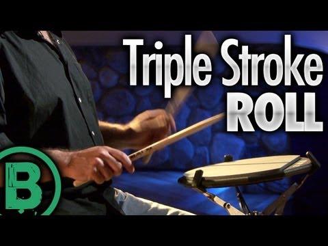 Triple Stroke Roll