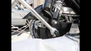 8. Chain Adjustment of Royal Enfield Motorcycle