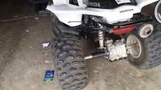 5. Honda Trx250x review
