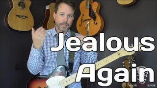 Jealous Again - The Black Crowes - Guitar Lesson - Standard Tuning