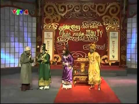 Tự Long, Xuân Bắc, Công Lý chém ngoại ngữ Táo quân 2008