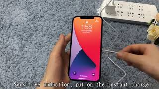 Wholesale 15W Fast MagSafe Wireless Charger for iPhone 12 from PhoneMust youtube video