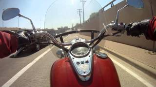 7. Kawasaki Vulcan 1500 Classic - GoPro Video