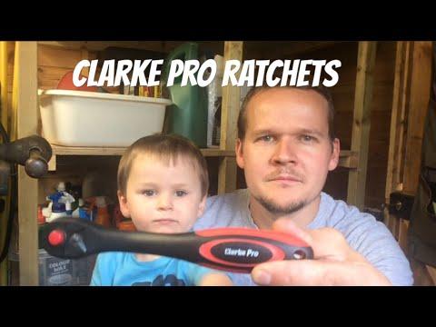 Clarke Pro Ratchets (Machine Mart)