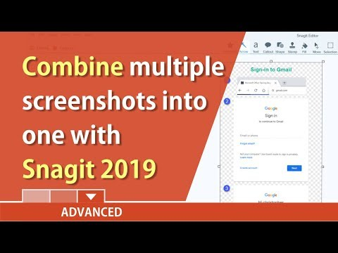 Combine multiple screen captures into one with Snagit 2019 by Chris Menard