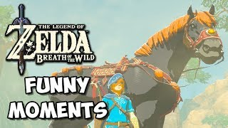 Zelda Breath of the Wild Funny Moments: Gambling Addiction - Chocolate Milk Gamer