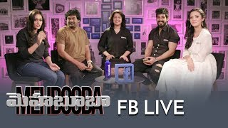 Video Mehbooba Team Facebook Live | Puri Jagannadh | Akash Puri | Neha Shetty | Inside Filmnagar MP3, 3GP, MP4, WEBM, AVI, FLV Juli 2018