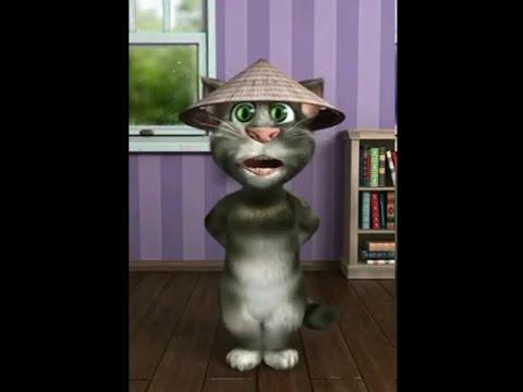 Mèo talking tom nhớ người yêu :D
