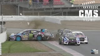 Rallycross Barcelona RX 2017 Day 1| Big Crashes & Show | CMSVideo
