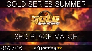 3rd Place Match - Gold Series - Playoffs Summer 2016