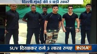 5 Khabarein Delhi Mumbai Ki | 5th October, 2016 - India TV