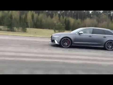 Tuned BMW M5 F10 700 HP vs Audi RS6 C7 690 HP tmchiptuning.com