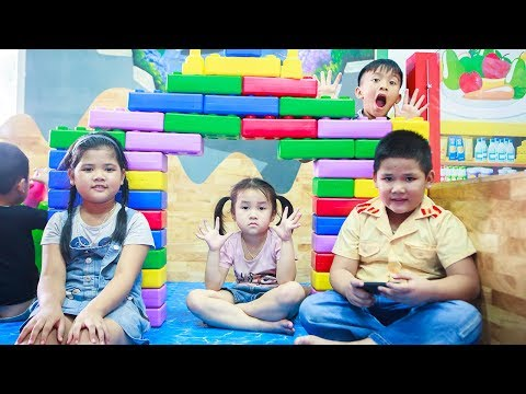 Kids Go To School | Birthday Of Chuns Children do the party Make a Birthday Cake Chocolate