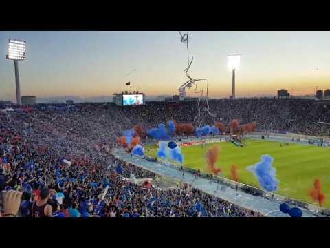 El dia del Hincha Azul - Universidad de Chile vs Deportes Iquique - Los de Abajo - Universidad de Chile - La U