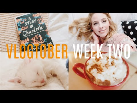 Library Book Haul & Reading Vlog    Charms Extra Credit Readathon