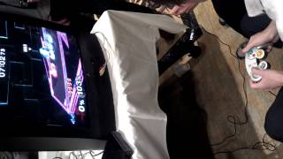 I Recorded aMSa's hands during a match at Apex 2014.
