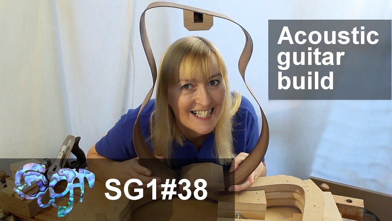 SuGar SG1 acoustic guitar build part 38: Gluing the blocks