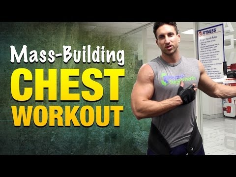 Chest Workouts For Mass: Incredible Chest Workout Routine For Strong, Muscular Pecs