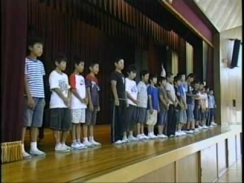 2009 常安小学校・2学期始業式