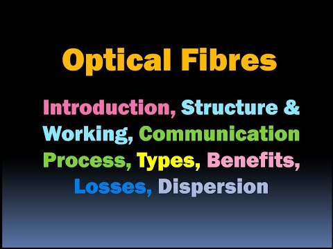 Optical Fibres in Communication: Covers all Important Points about Optical Fibre [HD]