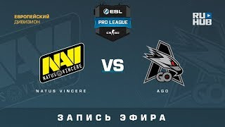 Na`Vi vs AGO - ESL Pro League S7 EU - de_mirage [CrystalMay, SleepSomeWhile]