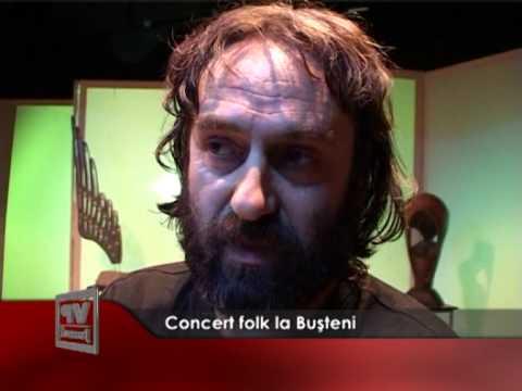 Concert folk la Bușteni