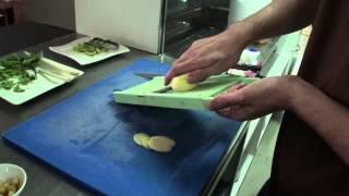 Recette Salade de Crabe et Crevettes, condiment Pomelo et Gingembre, Salade de Papaye Verte