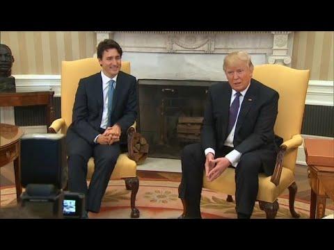 Tραμπ: «Καταπληκτική η συμφωνία με τον Καναδά»